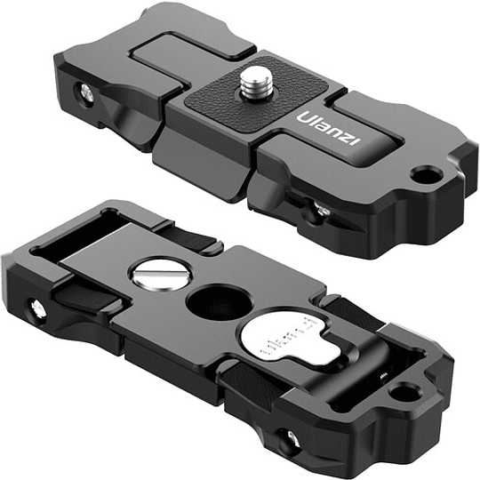 Ulanzi ST-15 Quick Release 2 en 1 - Plato Arca Swiss y Soporte para Smartphone en Trípode - Image 5