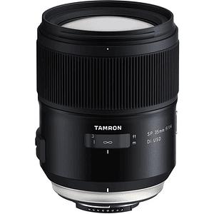 Lente Tamron SP 35mm f/1.4 Di VC USD para Canon EF