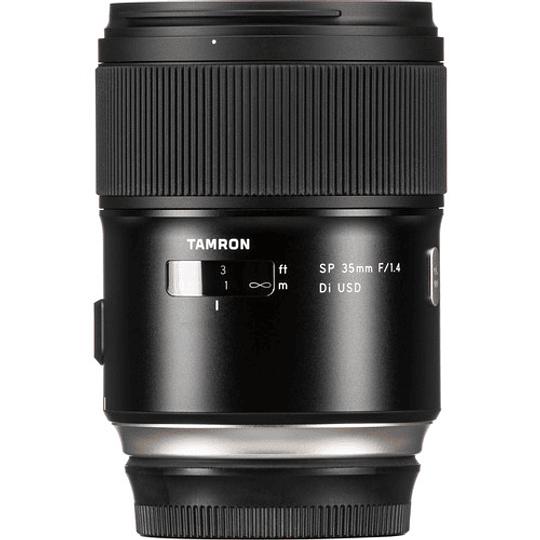 Lente Tamron SP 35mm f/1.4 Di VC USD para Canon EF - Image 2