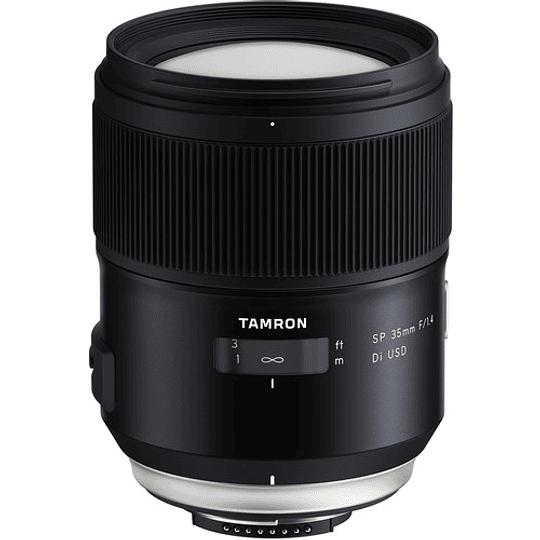 Lente Tamron SP 35mm f/1.4 Di VC USD para Nikon F - Image 1