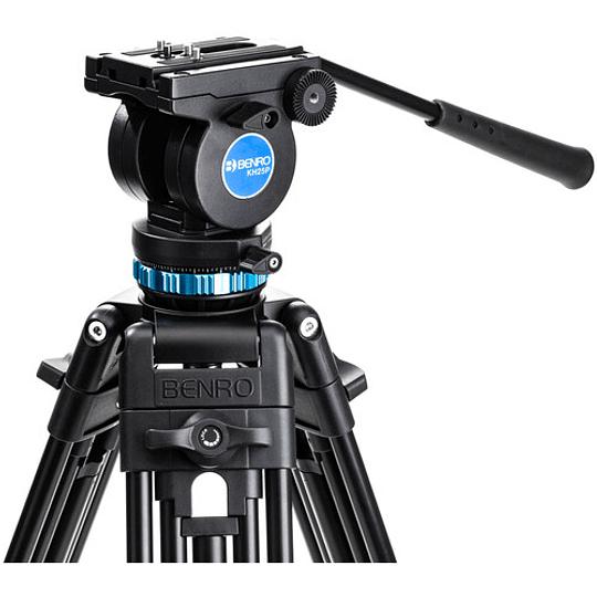 Benro KH25P Kit Trípode de Aluminio para Video Profesional - Image 3