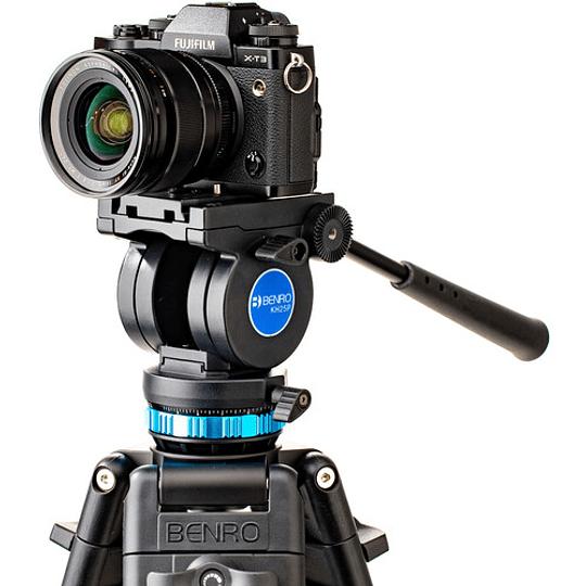 Benro KH25P Kit Trípode de Aluminio para Video Profesional - Image 4