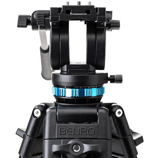 Benro KH25P Kit Trípode de Aluminio para Video Profesional - Image 6