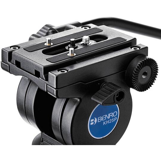 Benro KH25P Kit Trípode de Aluminio para Video Profesional - Image 7