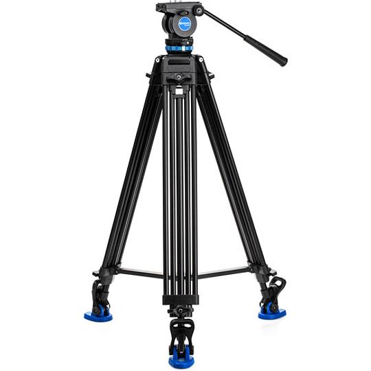 Benro KH26P Kit Trípode de Aluminio para Video Profesional - Image 1