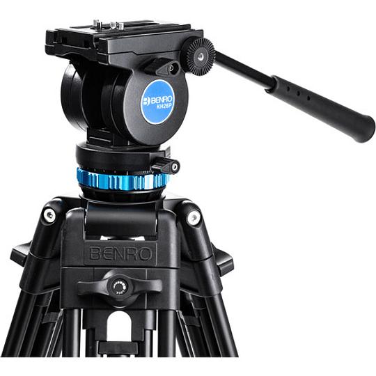 Benro KH26P Kit Trípode de Aluminio para Video Profesional - Image 4