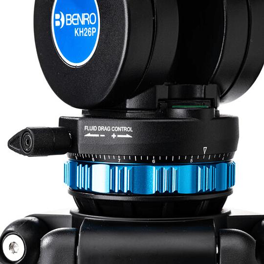 Benro KH26P Kit Trípode de Aluminio para Video Profesional - Image 5