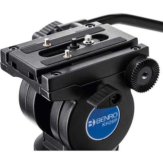 Benro KH26P Kit Trípode de Aluminio para Video Profesional - Image 7