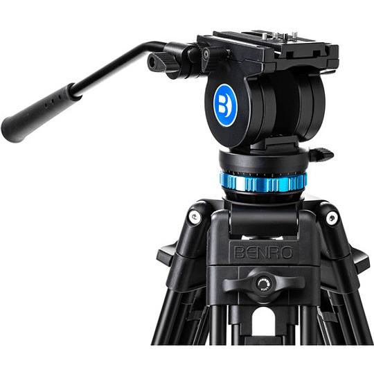 Benro KH26P Kit Trípode de Aluminio para Video Profesional - Image 10