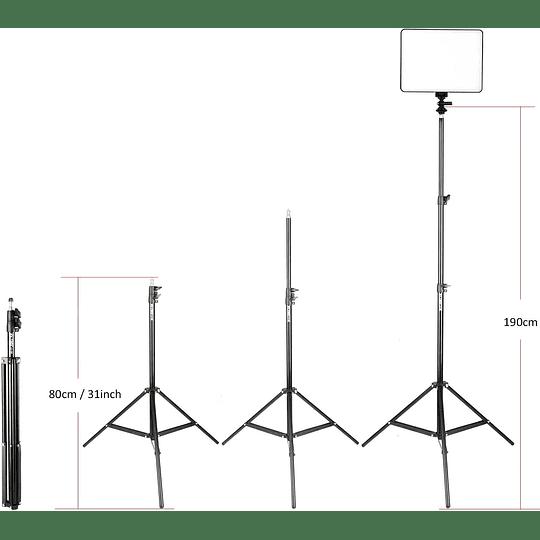 Viltrox VL-200 Bi-3 Kit de 3 Panel Led 30W/2450Lux Regulable 3300K-5600K LED CRI 95+ - Image 3