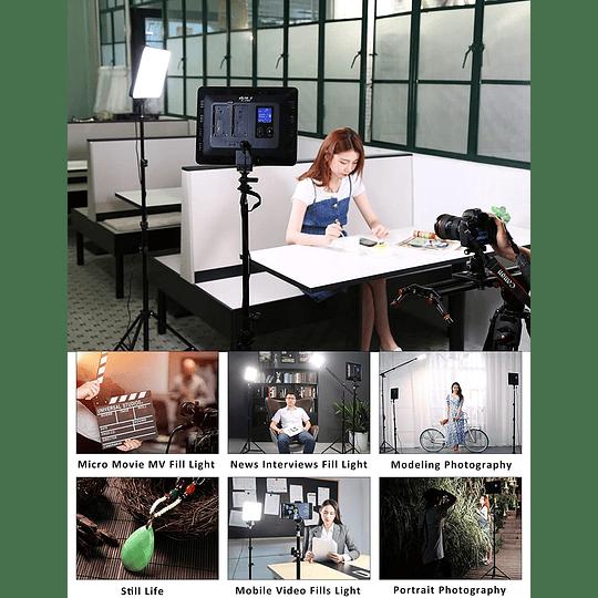 Viltrox VL-200 Bi-3 Kit de 3 Panel Led 30W/2450Lux Regulable 3300K-5600K LED CRI 95+ - Image 5