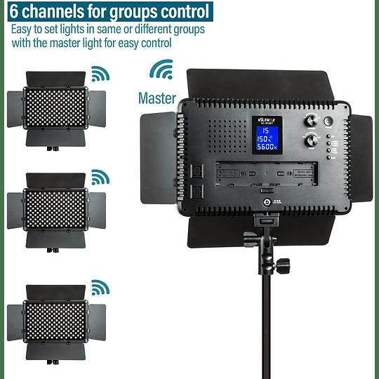 Viltrox VL-192 Bi-3 Kit de 3 Panel Led 45W/4700 lm Regulable 3300K-5600K LED CRI 95+ - Image 2