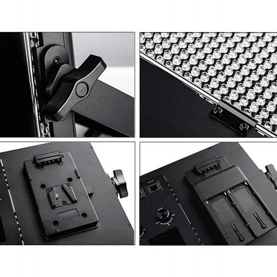 Viltrox VL-60 Bi-2 Kit de 2 Panel Led Bi-Color 60W/6324LM Regulable 3300K-5600K LED CRI 95+ - Image 3