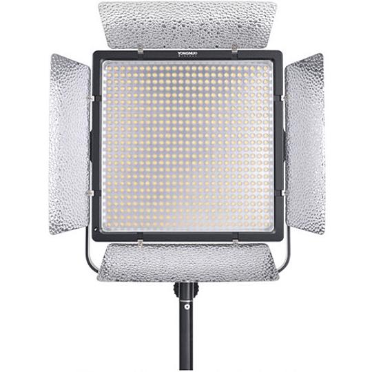 Yongnuo YN860 Panel Led Bi-Color con Aletas 3200-5500K con adaptador a corriente - Image 1