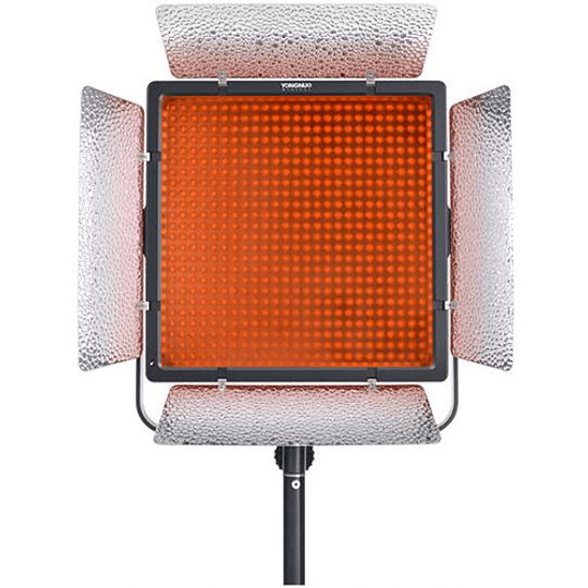 Yongnuo YN860 Panel Led Bi-Color con Aletas 3200-5500K con adaptador a corriente - Image 2