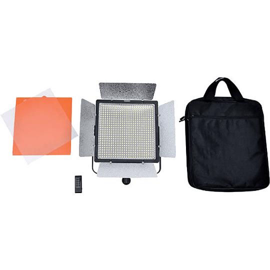 Yongnuo YN860 Panel Led Bi-Color con Aletas 3200-5500K con adaptador a corriente - Image 5