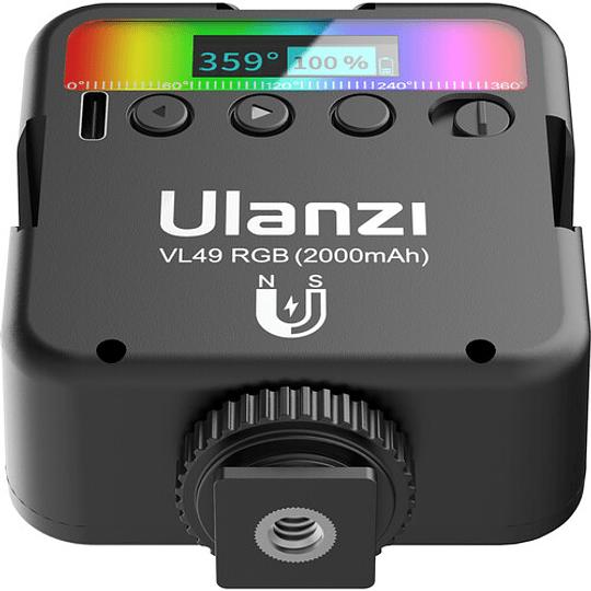 Ulanzi VL-49 Mini LED RGB Recargable para Smartphone y Mirrorless - Image 6