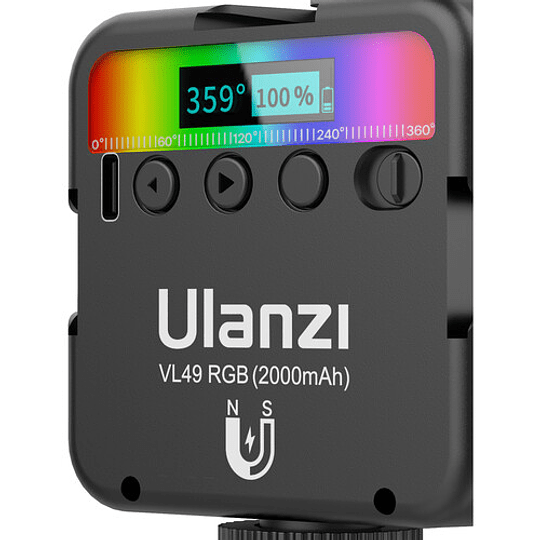 Ulanzi VL-49 Mini LED RGB Recargable para Smartphone y Mirrorless - Image 7