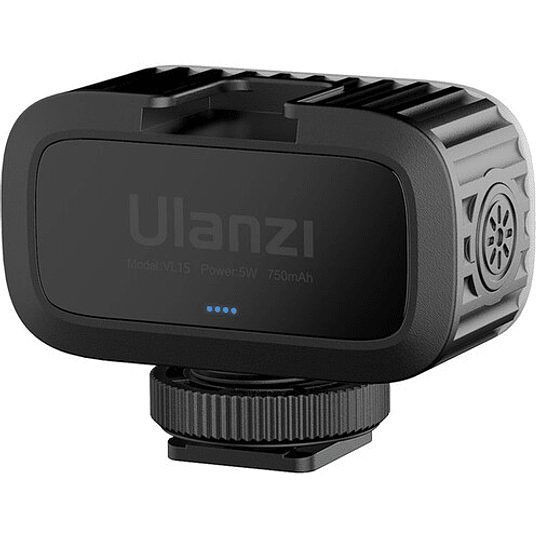 Ulanzi VL15 Super-Mini LED RGB para Cámaras y Smartphone - Image 3