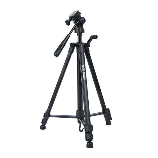 Soligor WT-3220 Tripode para Fotografía y Video Con Bolso - Image 1