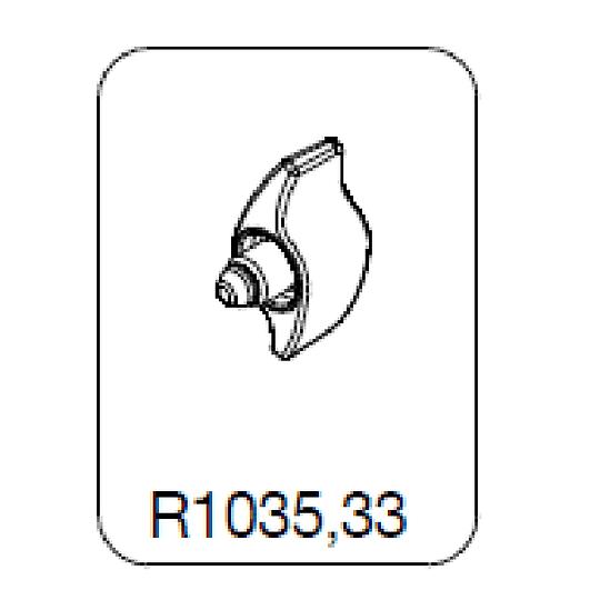 Manfrotto R1035,33 Knob Botón de Bloqueo para Trípodes y Cabezales - Image 1