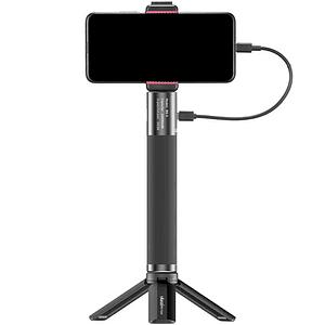 Ulanzi BG-3 Handgrip con Trípode y Powerbank de 10,000mAh para Cámaras y Smartphone