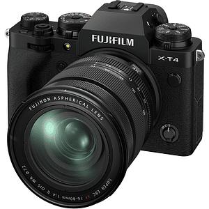 FUJIFILM X-T4 Mirrorless Cámara Digital con Lente 16-80mm f/4 R OIS WR (Black)