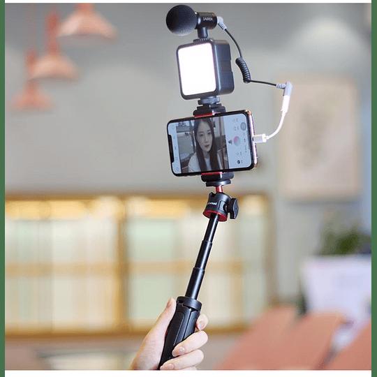 Ulanzi VLOGKIT Kit de Trípode + Luz Led y Soporte de Smartphone para Teletrabajo - Image 4