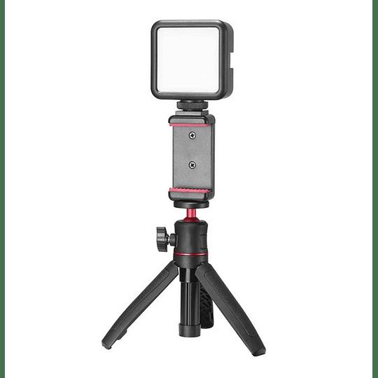 Ulanzi VLOGKIT Kit de Trípode + Luz Led y Soporte de Smartphone para Teletrabajo - Image 8