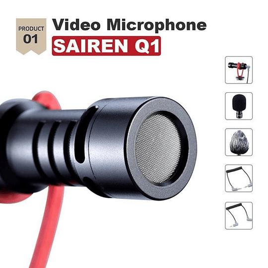 Ulanzi VIDEOKIT Kit de Trípode + Micrófono y Soporte de Smartphone para Teletrabajo - Image 3