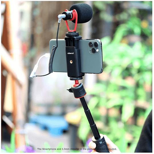 Ulanzi VIDEOKIT Kit de Trípode + Micrófono y Soporte de Smartphone para Teletrabajo - Image 9