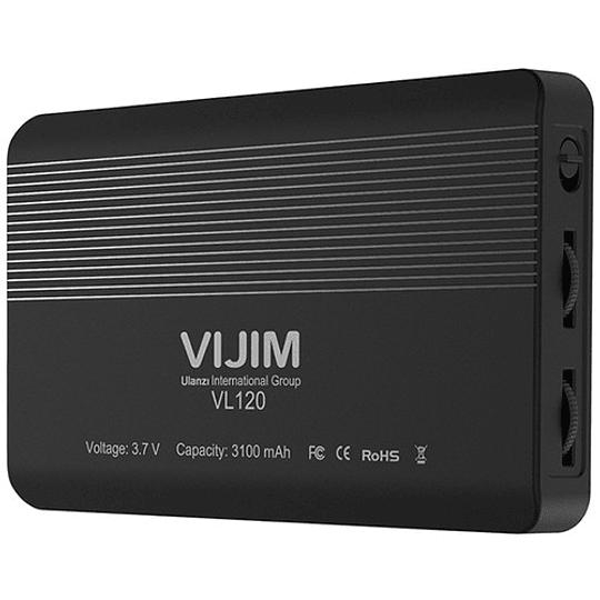 VIJIM VL120 Mini Pocket LED con Batería Recargable de 2000mAh (Tº de 3200 to 6500K) - Image 2