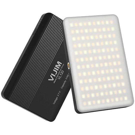 VIJIM VL120 Mini Pocket LED con Batería Recargable de 2000mAh (Tº de 3200 to 6500K) - Image 3