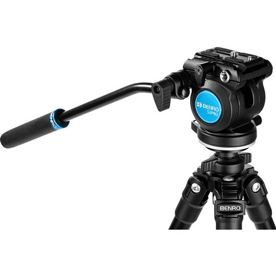Benro S2 PRO Flat Base Video Head - Image 1
