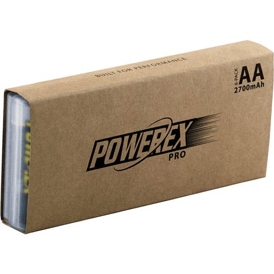 Powerex Pro MH-8AAPRO-BH 8 Pilas Recargables AA NiMH (1.2V, 2700mAh) - Image 5