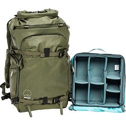 Shimoda Designs Action X30 Mochila Starter Kit con Core Unit Medio Para Mirrorless Version 2 (Army Green)