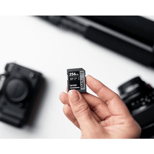 Lexar 256GB Professional 1667x UHS-II SDXC Tarjeta de Memoria - Image 4