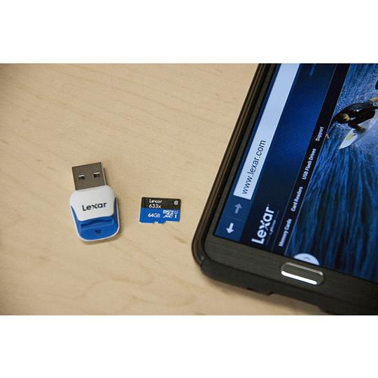 Lexar 128GB High-Performance 633x UHS-I microSDXC Tarjeta de Memoria con Adaptador SD - Image 5