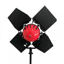 Iluminus Redhead Led Cabezal Tipo Fresnel De Luz Led de 55W