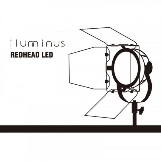 Iluminus Redhead Led Cabezal Tipo Fresnel De Luz Led de 55W - Image 6