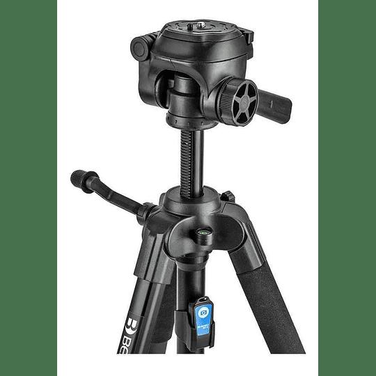 BENRO T899EX Kit Trípode de Aluminio + Cabezal + Bolso + Clip y Control Remoto para Smartphone - Image 2