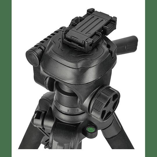 BENRO T899EX Kit Trípode de Aluminio + Cabezal + Bolso + Clip y Control Remoto para Smartphone - Image 4