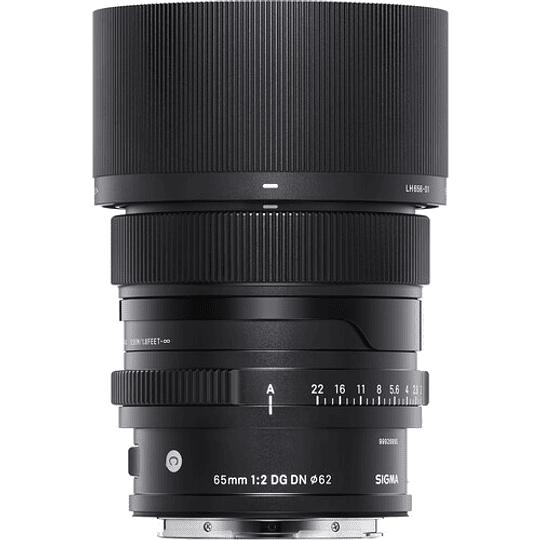 SIGMA 65mm f/2 DG DN Contemporary Lente para Sony E-Mount - Image 2
