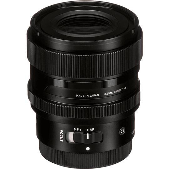 SIGMA 65mm f/2 DG DN Contemporary Lente para Sony E-Mount - Image 4