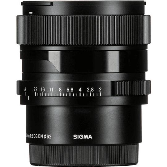 SIGMA 65mm f/2 DG DN Contemporary Lente para Sony E-Mount - Image 7
