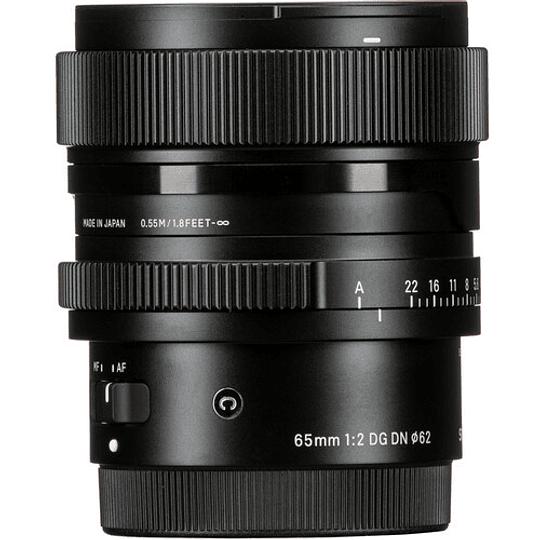 SIGMA 65mm f/2 DG DN Contemporary Lente para Sony E-Mount - Image 8