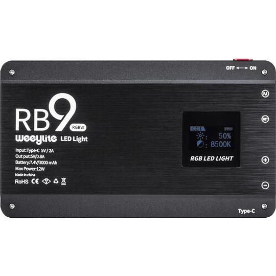 Weeylite RB9 Luz Led RGB para Fotografía Profesional - Image 4