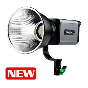 Weeylite Ninja 200 Luz LED COB Bicolor Portátil con Control Remoto Inteligente y Adaptador Bowens y Baterías