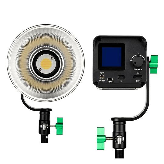 Weeylite Ninja 200 Luz LED COB Bicolor Portátil con Control Remoto Inteligente. - Image 4