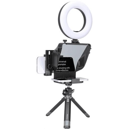 Ulanzi PT-15 Teleprompter Portátil para Cámaras y Smartphone con Control Remoto - Image 5